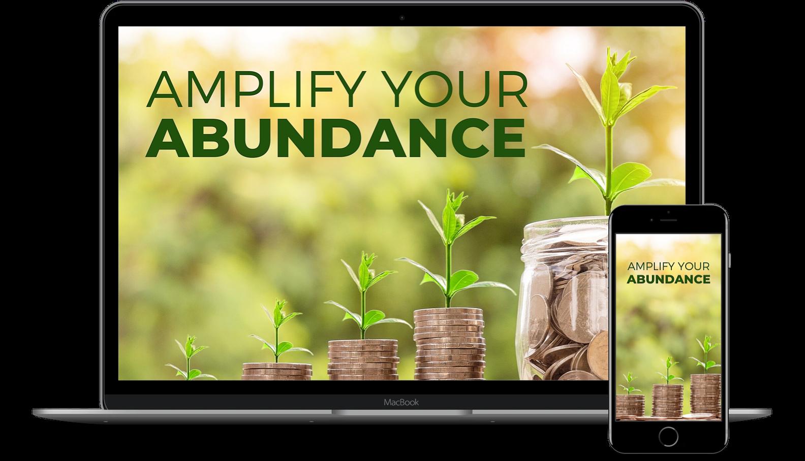amplify your abundance
